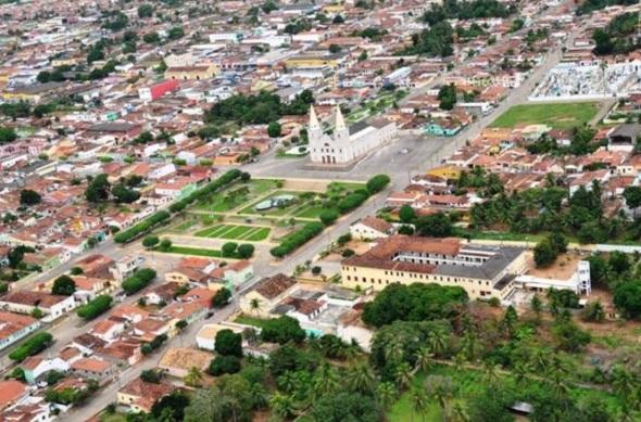 30 de Julho - Foto aérea da cidade — Ceará-Mirim (RN) — 159 Anos em 2017.