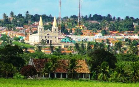 30 de Julho - Vista panorâmica da cidade — Ceará-Mirim (RN) — 159 Anos em 2017.
