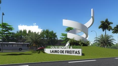 31 de Julho - Anúncio de volte sempre à cidade - Lauro de Freitas (BA) — 55 Anos em 2017.