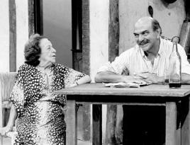 31 de Julho - Henriqueta Brieba - 1901 – 116 Anos em 2017 - Acontecimentos do Dia - Foto 2 - Com Lima Duarte.