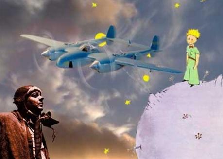 31 de Julho - O Pequeno Príncipe — Antoine de Saint-Exupéry, aviador e escritor francês.
