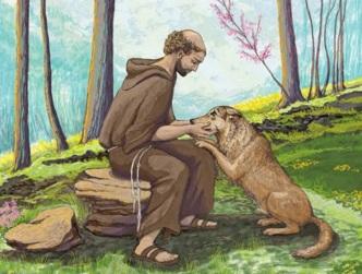 5 de Julho – Francisco de Assis, frade católico italiano e o lobo.