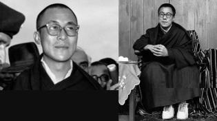 6 de Julho – 1935 – Tenzin Gyatso, atual Dalai Lama e líder religioso do Budismo, ainda jovem.