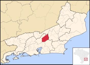 6 de Julho – Mapa de localização — Teresópolis (RJ) — 126 Anos em 2017.