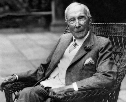 8 de Julho – 1839 – John Davison Rockefeller, industrial e filantropo norte-americano que doou mais