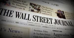 8 de Julho – 1889 – Primeira edição do jornal americano Wall Street Journal.