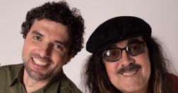 8 de Julho – Davi Moraes ao lado do pai, Moraes Moreira - cantor e compositor brasileiro.