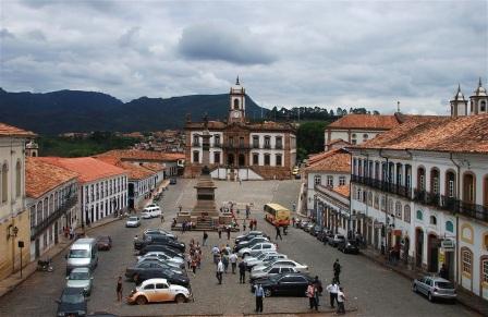 8 de Julho – Museu da Inconfidência, na Praça Tiradentes — Ouro Preto (MG) — 306 Anos em 2017.