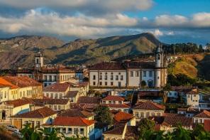 8 de Julho – Vista do Centro Histórico — Ouro Preto (MG) — 306 Anos em 2017.