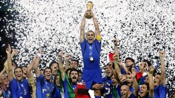 9 de Julho – 2006 – A Seleção Italiana de Futebol sagra-se tetracampeã da Copa do Mundo na Alemanha.