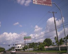9 de Julho – Cruzamento da avenida Ene Garcez com a avenida Brigadeiro Eduardo Gomes — Boa Vista (RR) — 127 Anos em 2017.