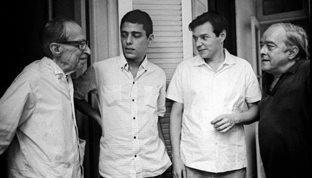 9 de Julho – Manuel Bandeira, Chico Buarque, Tom Jobim e Vinícius de Moraes.