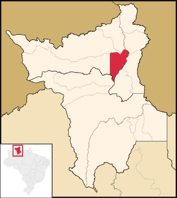 9 de Julho – Mapa de localização — Boa Vista (RR) — 127 Anos em 2017.