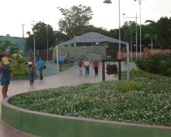 9 de Julho – Saída pela Plataforma 1 da Orla Taumanan, ao fundo o Monumento aos Pioneiros — Boa Vista (RR) — 127 Anos em 2017.