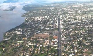 9 de Julho – Tomada aérea da cidade — Boa Vista (RR) — 127 Anos em 2017.