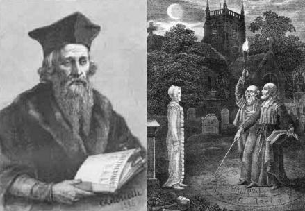 1 de Agosto – 1555 – Edward Kelley, médium espírita inglês (m. 1597).