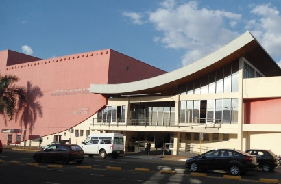 1 de Agosto – Fachada do Teatro Municipal de Bauru (Celina Lourdes Alves Neves) — Bauru (SP) — 121 Anos em 2017.
