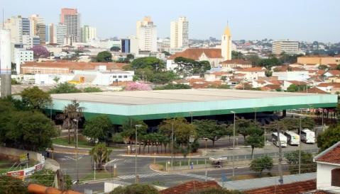 1 de Agosto – Terminal Rodoviário - Visão geral — Bauru (SP) — 121 Anos em 2017.