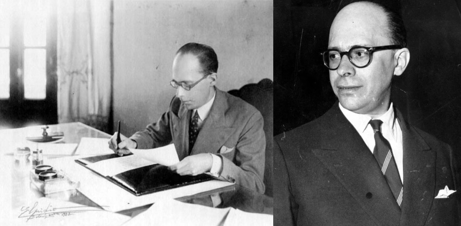 10 de Agosto – 1900 – Gustavo Capanema, político brasileiro (m. 1985). Criou o Patrimônio Histórico e Artístico Nacional.