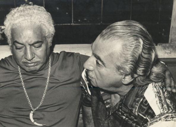 10 de Agosto – Jorge Amado- 1912 – 105Anos em 2017 - Acontecimentos do Dia - Foto 11 - Com Dorival Caymmi.