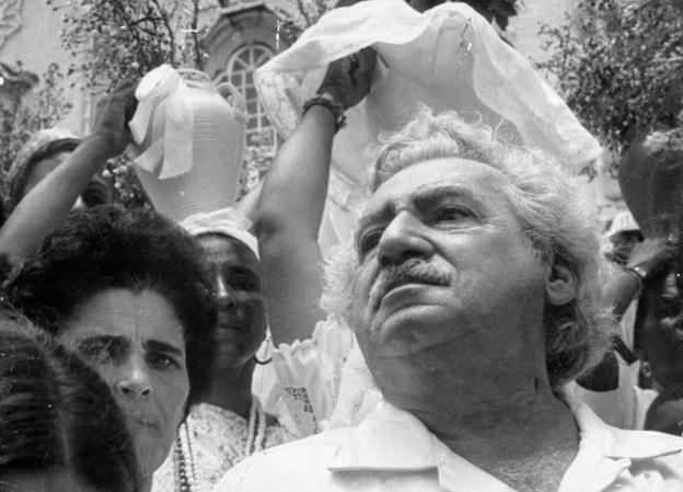 10 de Agosto – Jorge Amado- 1912 – 105Anos em 2017 - Acontecimentos do Dia - Foto 9 - Na Lavagem do Bonfim.