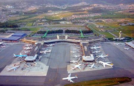 11 de Agosto – 1980 — A construção do Aeroporto Internacional de São Paulo - Guarulhos, Cumbica, é iniciada.