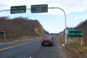 11 de Agosto – BR-404 - Trecho da cidade de Pedro II, na Divisa do Piauí com o Ceará — Pedro II (PI) — 163 Anos em 2017.
