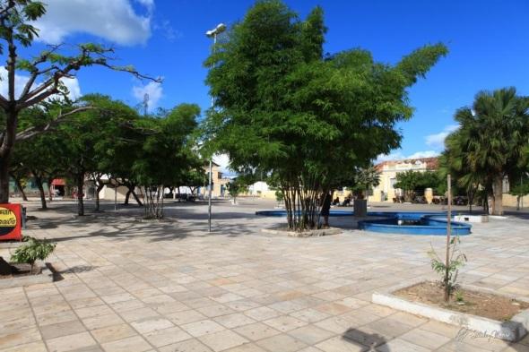 11 de Agosto – Praça Manoel Nogueira Lima - Palco do Festival de Inverno, no mês de julho — Pedro II (PI) — 163 Anos em 2017.