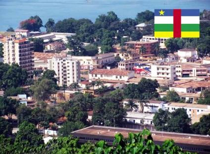 13 de Agosto – 1960 – Independência da República Centro-Africana. Foto da capital, Bangui.