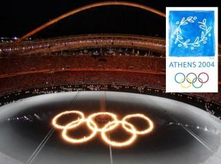 13 de Agosto – 2004 – Abertura dos Jogos Olímpicos de Atenas, na Grécia.