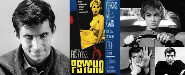 13 de Agosto – Alfred Hitchcock - 1899 – 118 Anos em 2017 - Acontecimentos do Dia - Foto 21 - Anthony Perkins e Janet Leigh, em 'Psycho' - Psicose, de 1960.
