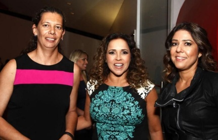 14 de Agosto – Ana Moser - 1968 – 49 Anos em 2017 - Acontecimentos do Dia - Foto 17 - Ana Moser, Daniela Mercury e Malu Verçosa em premiação na ciidade de São Paulo.