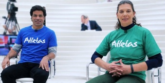 14 de Agosto – Ana Moser - 1968 – 49 Anos em 2017 - Acontecimentos do Dia - Foto 19 - Raí e Ana Moser, no Roda Viva, em 2013.