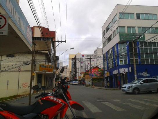 14 de Agosto – Avenida Bias Fortes, no Centro da cidade — Barbacena (MG) — 226 Anos em 2017.