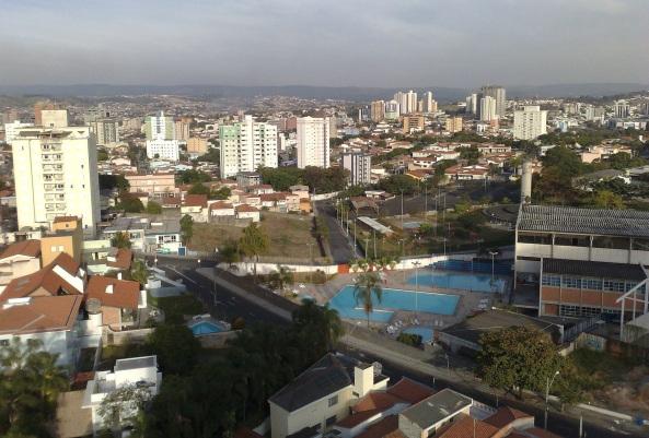 15 de Agosto – Panorama da cidade a partir do bairro Mangal — Sorocaba (SP) — 363 Anos em 2017.