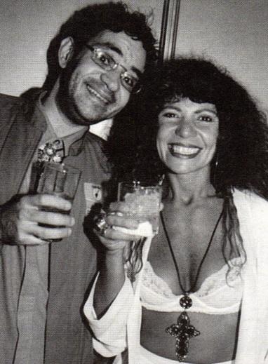 17 de Agosto – Elba Ramalho - 1951 – 66 Anos em 2017 - Acontecimentos do Dia - Foto 20 -Renato Russo e Elba Ramalho.