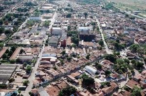 17 de Agosto – Foto aérea da cidade — Barbalha (CE) — 171 Anos em 2017.