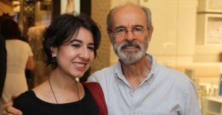18 de Agosto – Osmar Prado - 1947 – 70 Anos em 2017 - Acontecimentos do Dia - Foto 10 - Osmar Prado ao lado da filha, a atriz Janaína Prado.