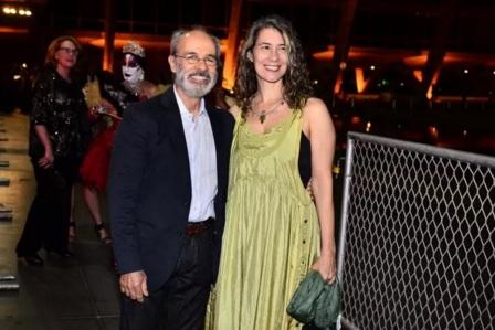 18 de Agosto – Osmar Prado - 1947 – 70 Anos em 2017 - Acontecimentos do Dia - Foto 11 - Osmar Prado e a esposa, Vânia Pacheco.