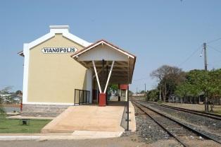 19 de Agosto – Estação Ferroviária — Vianópolis (GO) — 69 Anos em 2017.