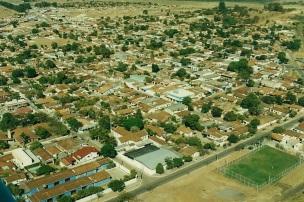 19 de Agosto – Foto aérea da cidade - Imagem de Rafael Cintra - Vianópolis (GO) — 69 Anos em 2017.
