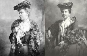 19 de Agosto – Joaquim Nabuco - 1849 – 168 Anos em 2017 - Acontecimentos do Dia - Foto 13 - Evelina Torres Soares Ribeiro, esposa de Joaquim Nabuco.