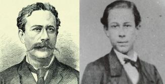 19 de Agosto – Joaquim Nabuco - 1849 – 168 Anos em 2017 - Acontecimentos do Dia - Foto 15 - Joaquim Nabuco ainda jovem.