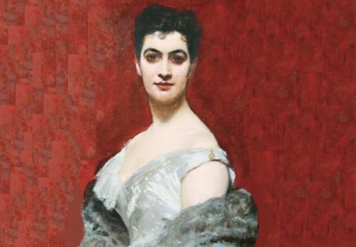 19 de Agosto – Joaquim Nabuco - 1849 – 168 Anos em 2017 - Acontecimentos do Dia - Foto 5 - Eufrásia Teixeira Leite, em 1880, aos 30 anos..