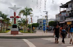 2 de Agosto – Monumento do Cristo — Coari (AM) — 85 Anos em 2017.