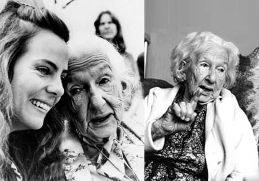 20 de Agosto – Cora Coralina - 1889 – 128 Anos em 2017 - Acontecimentos do Dia - Foto 15 - Bruna Lombardi e Cora Coralina.