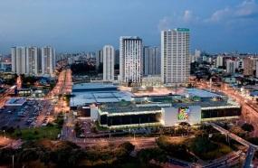 20 de Agosto – Fachada do Shopping Metrópole e novos prédios da região — São Bernardo do Campo (SP) — 464 Anos em 2017.