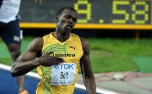 21 de Agosto — CAPA • Usain Bolt - 1986 – 31 Anos em 2017 - Acontecimentos do Dia - Foto 9 - 100m - 9,58 - Berlim, 2009.