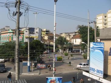 21 de Agosto — Praça do Chafariz no centro da cidade — Nilópolis (RJ) — 70 Anos em 2017.