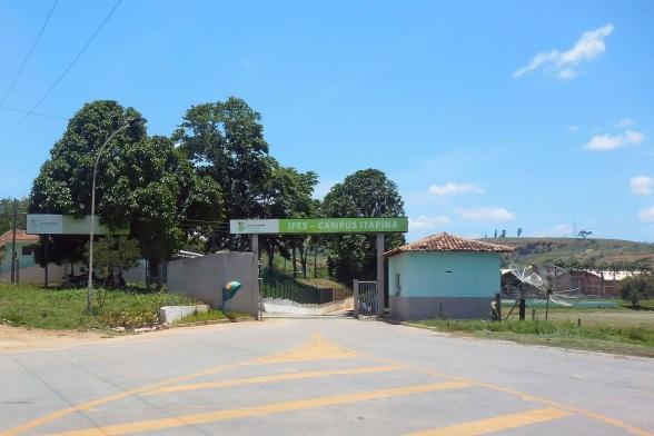 22 de Agosto — Entrada do IFES - Campus Itapina — Colatina (ES) — 96 Anos em 2017.